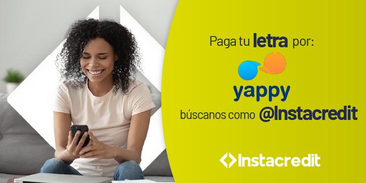 Slide web Instacredit Panamá Mayo Junio 2021 Yappi